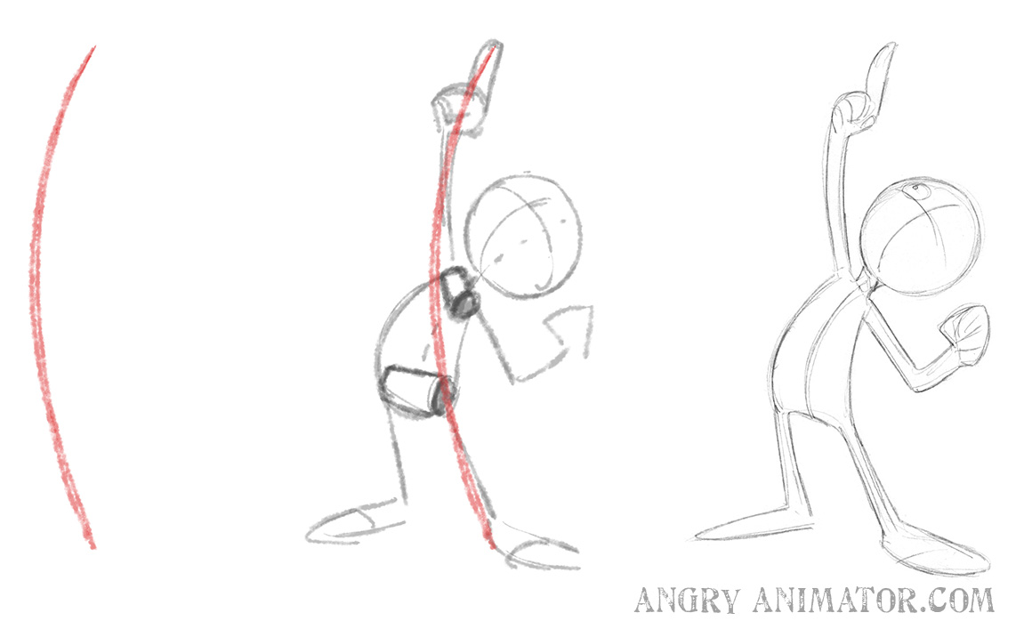 gesture drawing and line of action